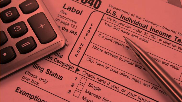 Tax Alert Featured Orange