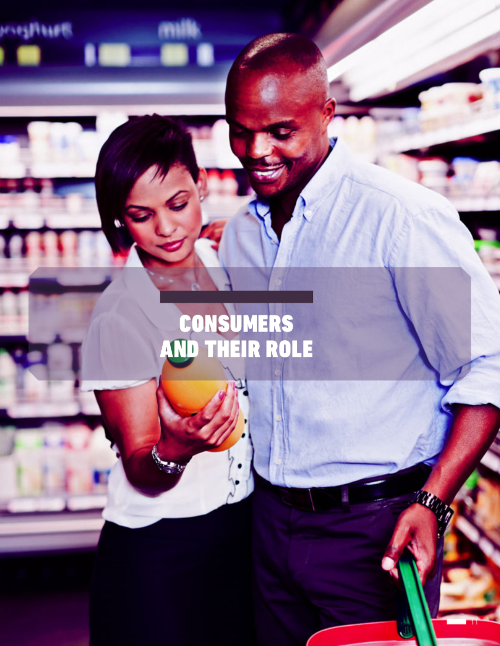 Role Of Consumers