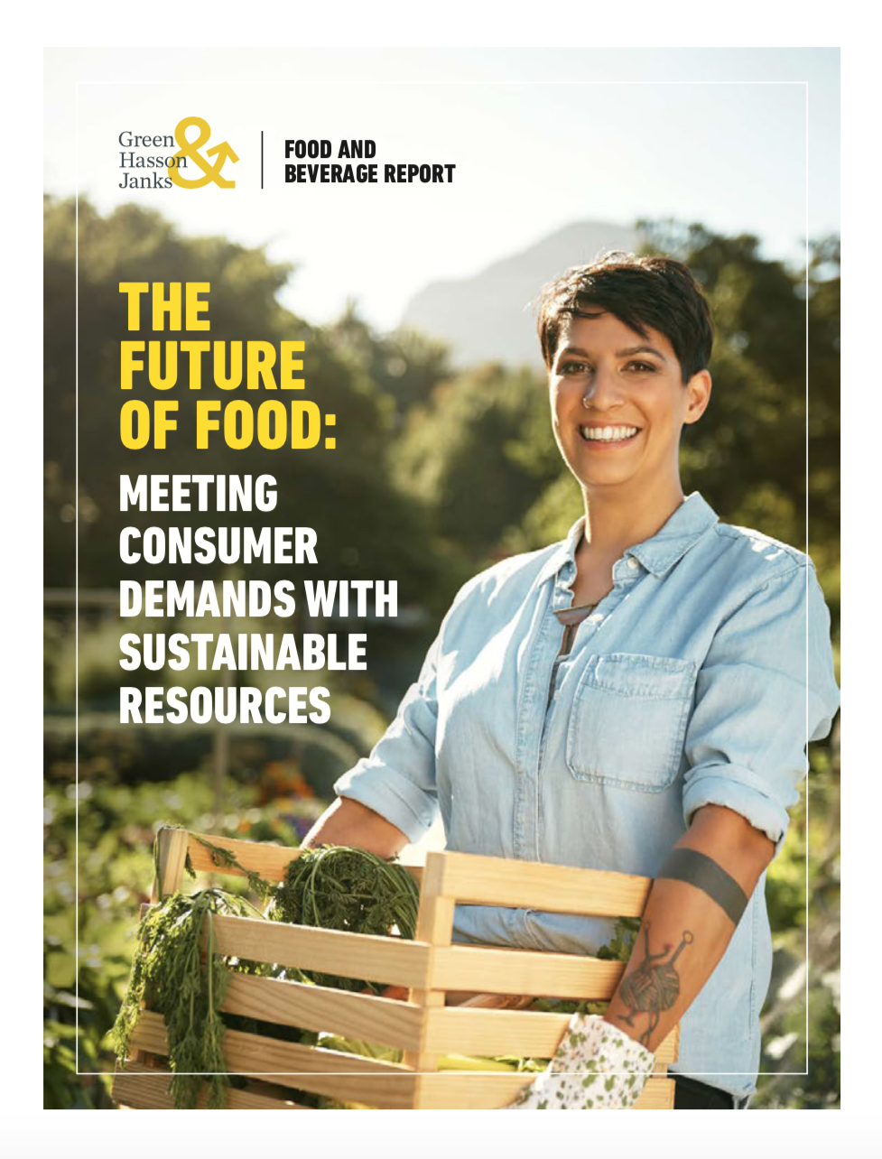 The Future Of Food Front Page