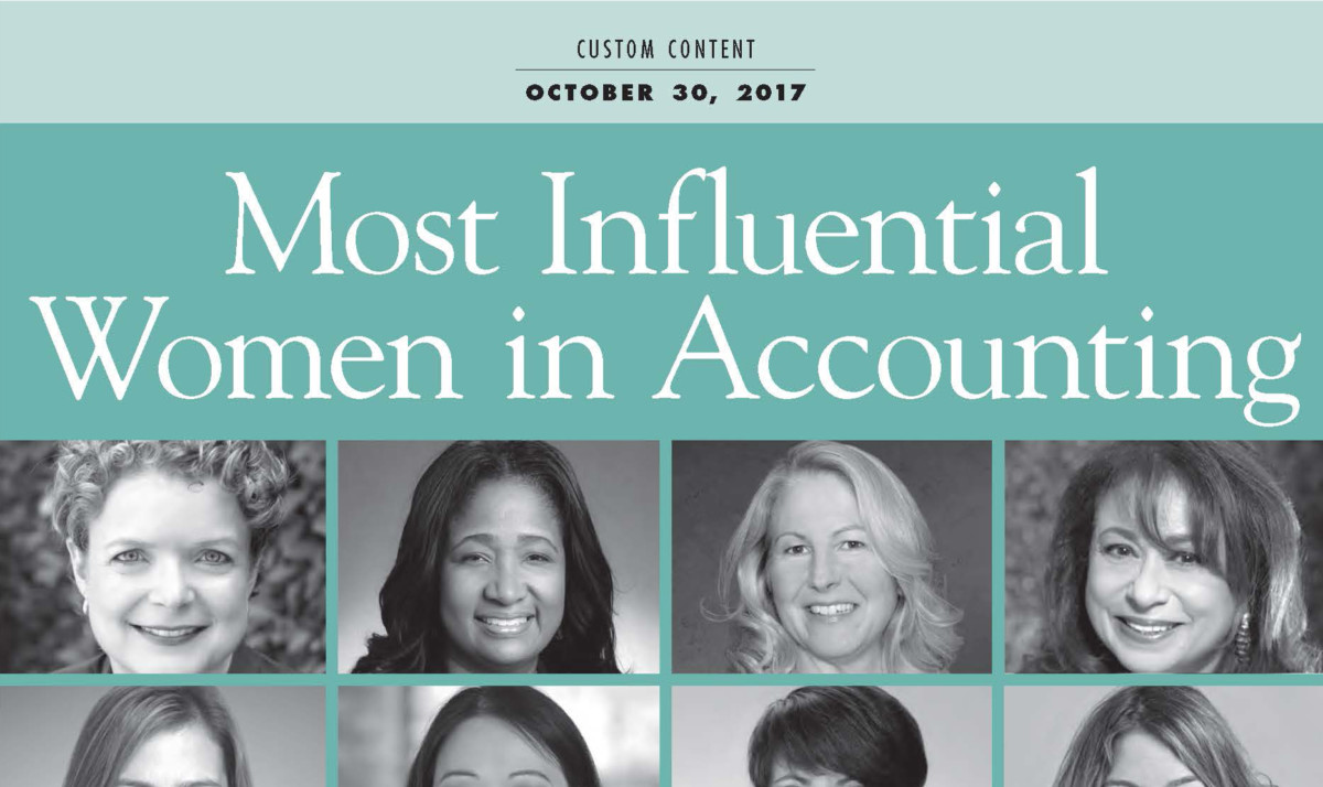 Most Influential Women in Accounting
